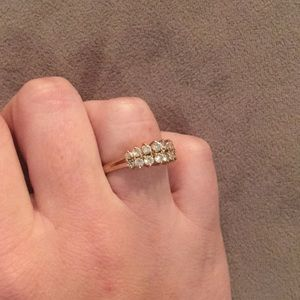 Jewelry - Size 8 1/2 gold ring